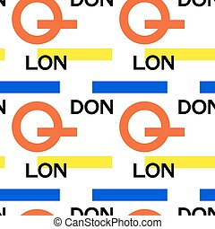 London city pattern