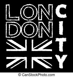 London City t shirt 3 - London city Typography Graphics....