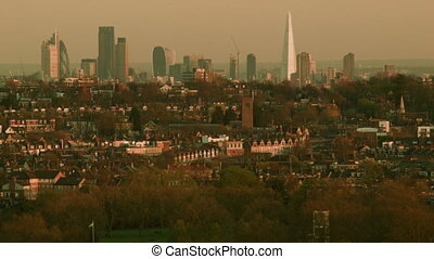 London, city with residential quart