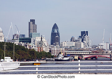 London cityscape - A photography of the big London city