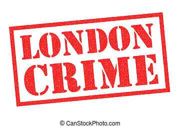 LONDON CRIME Rubber Stamp - LONDON CRIME red Rubber Stamp ...