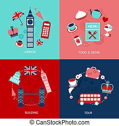 London decorative set