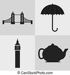 london england landmark set design