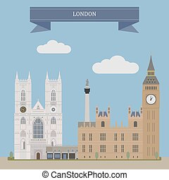 London, England - London, capital and most populous city of...
