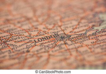 London England Map