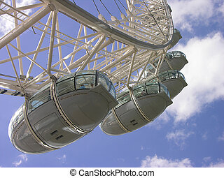 London eye - cockpits