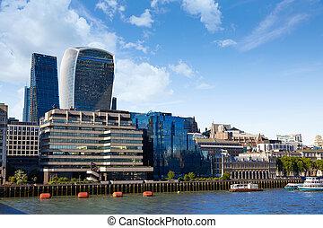 London financial district skyline Square Mile