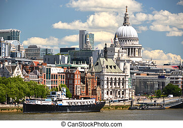 London from Waterloo Bridge