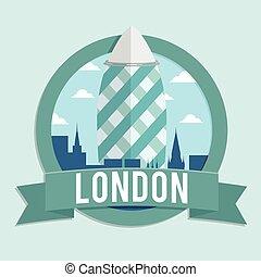 london gherkin banner