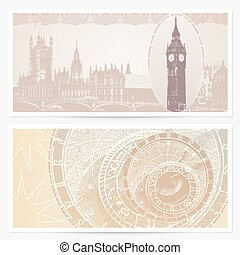 London Gift Voucher, coupon, ticket