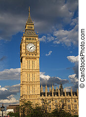 london landmark - Big Ben\\\'s home, Westminster Clock...