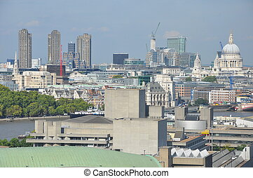 london, luftblick