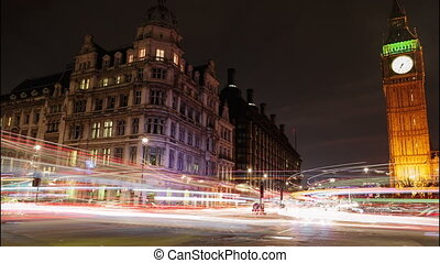 London Night Timelapse