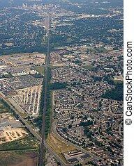 London Ontario aerial - aerial view of the suburbs Trafalgar...