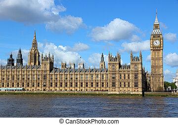 London - Palace of Westminster - London, United Kingdom -...