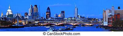 London Panorama at Dusk