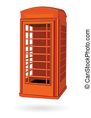 London phone red box