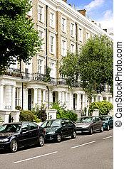 London residential street