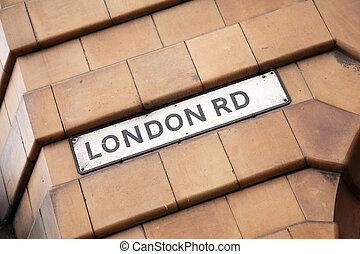 London Road Street Sign