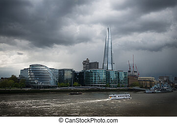 london shard and city hall - Shard and city hall modern...