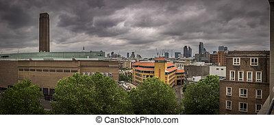 London skyline panorama