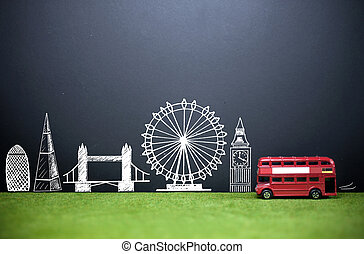 London skyline tourism