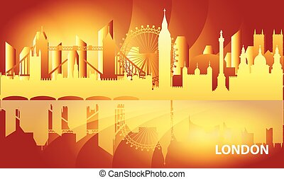 London skyline vector 15