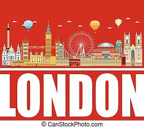 London skyline vector 18