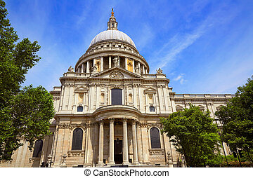 London St Paul Pauls Cathedral in England - London St Paul...