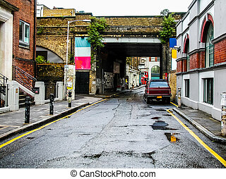 London street HDR