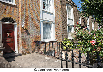 London suburban home.