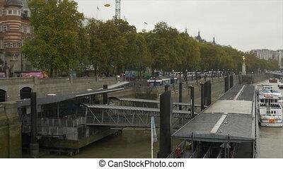 London Thames River Wharf