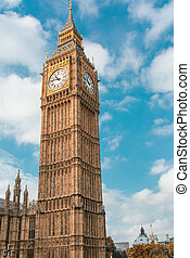 London. The Big Ben