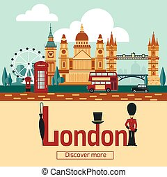 London Touristic Poster