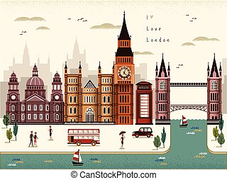 London travel scenery - attractive London travel scenery...