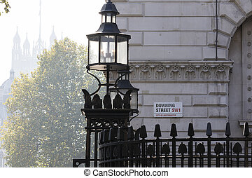 Downing Street's sign