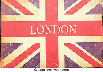 London, Union Jack.