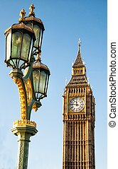 LONDON, UNITED KINGDOM - JANUARY 2: The Elizabeth Tower on January 2, 2015 in London. The Clock Tower, named in tribute to Queen Elizabeth II, more popularly known as Big Ben.