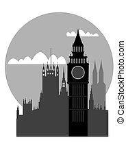 London - vector