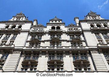 London, UK - Victorian architecture of former Secret Service HQ.