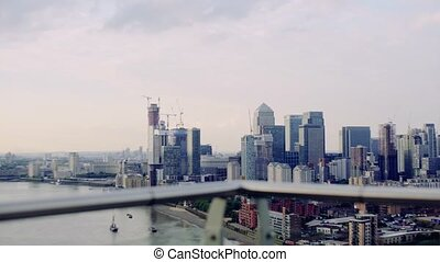 London view panorama. - A London view skyline panorama.
