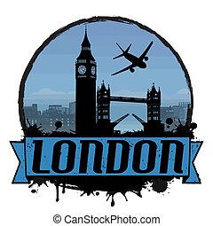 London vintage background