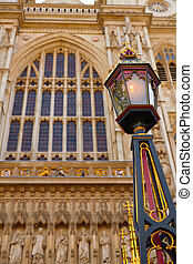 London Westminster Abbey facade