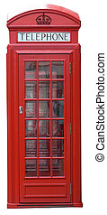 English phone box (London, UK)