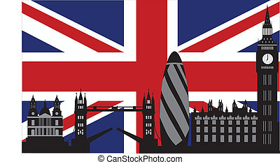 London_skyline_flag