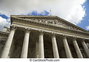 London's Royal Exchange - Hub of world finance, the Royal...