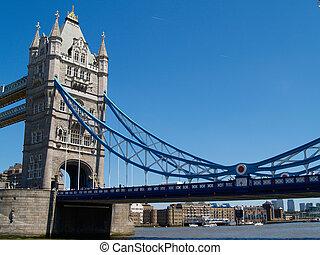 London's Tower Bridge.