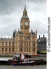 London's Westminster palace - Big Ben and Westminster palace