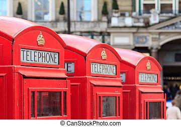 londres, cabinas telefônicas