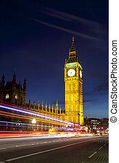 londres, parlamento, ben grande, casas